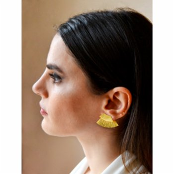 Unadorned Jewelry Design - The Twice Wave Earring