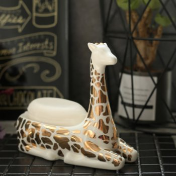 Warm Design - Ceramic Giraffe Jewelry & Ring Holder