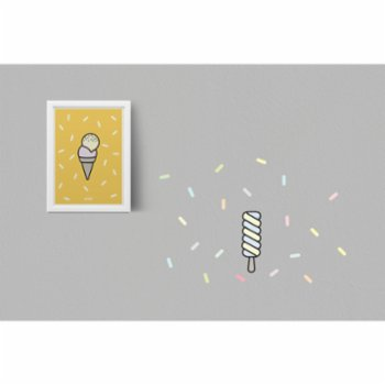 Pop by Gaea - Mustard Gelato No.2 Print