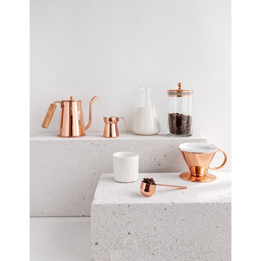 Bakır İstanbul - Brew Lab Copper Coffee Canister