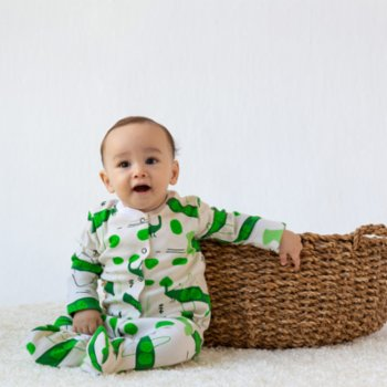 Baby Fou - Pea Jumpsuit