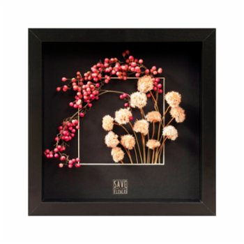 Save The Flowers - Square 33 Frame