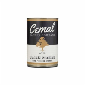 Cemal Candle Company - Siyah Orkide Mum