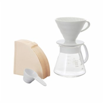 Hario - V60 02 Ceramic Coffee Brewing Set