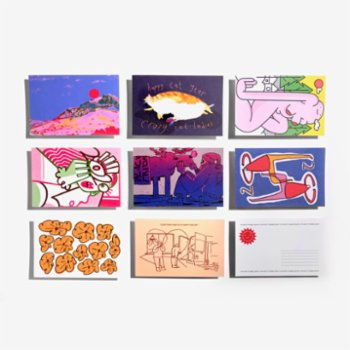 Studio These Days - New Year Postcard Series - 8Set