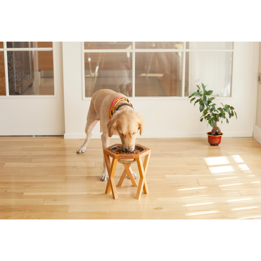 Wood&Tail - Alone Dog Bowl Stand