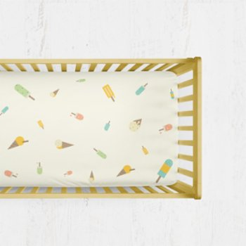 Happy Folks - Ice Cream Dream Fitted Cot Sheet