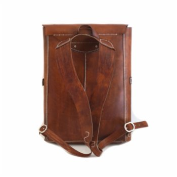 Sakin Leather - Asymmetrical Backpack