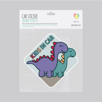 Baluna - Kids in Car Sticker