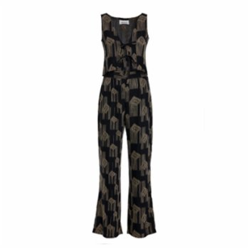 Mintco. - Dusty Match in Black Pant & Matching Top