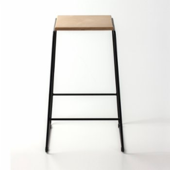 Womodesign - Bar Stool With Metal Legs