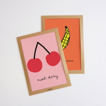 Pop by Gaea - Sweet Cherry Print