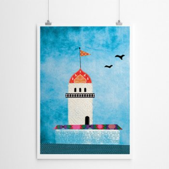 Fabl - The Maiden's Tower Print - I