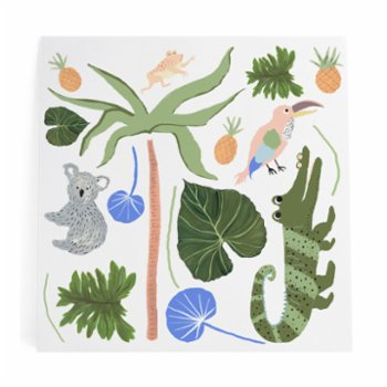 Pop by Gaea - Koala & Crocodile XL Sticker