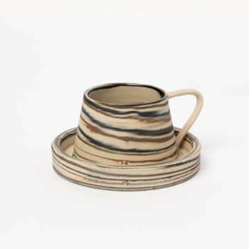 Masuma Ceramics - Chocolate Turkish Coffee Set