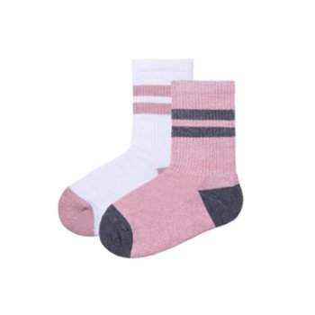 Socks'n Bubbles - Rose Sport Socks Set Of 2