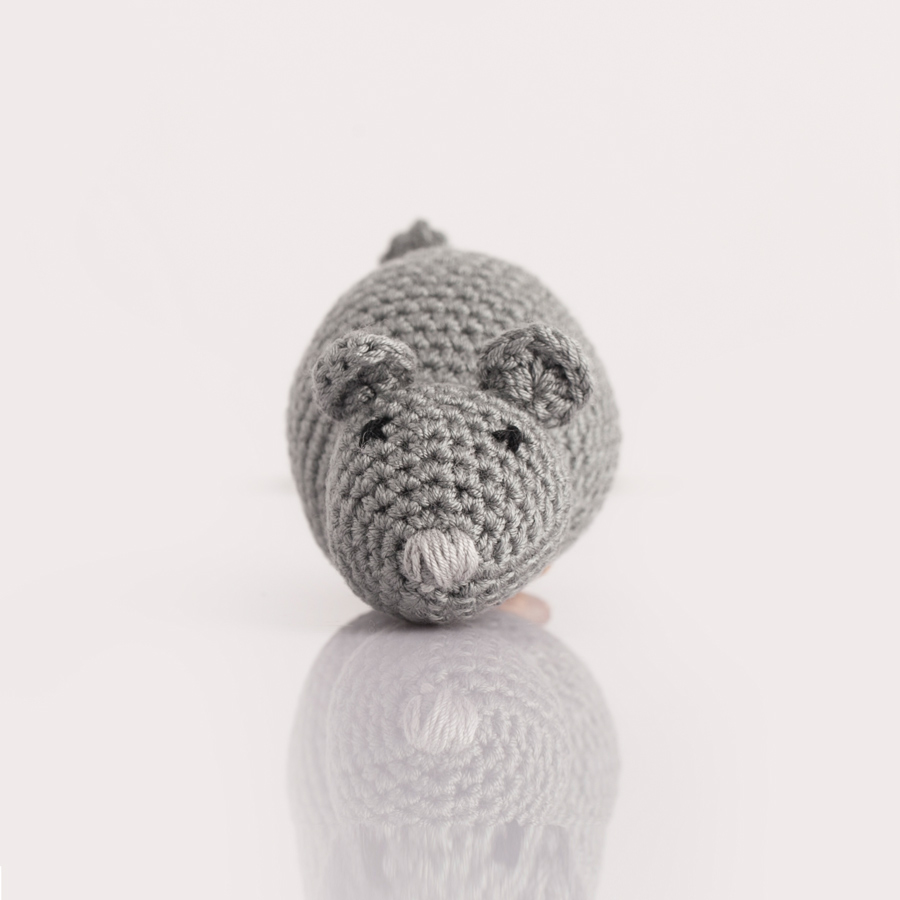 Wood&Tail - Hand Knitted Mouse