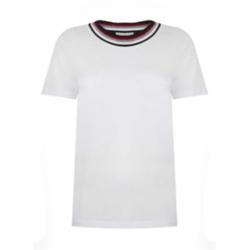 Pia Brand - Stripy Neck T-Shirt  - I