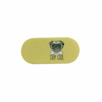 Funsy - Sliding Webcam Cover | Pug