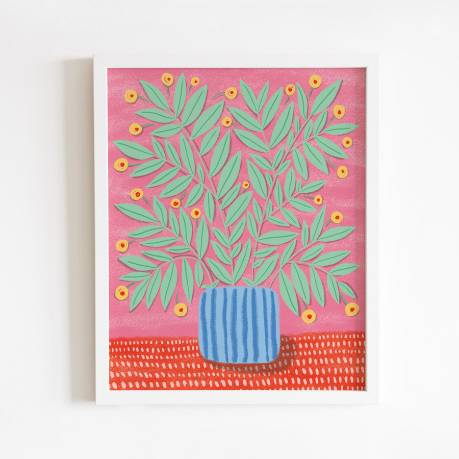 Omm Creative - Flowers Poster