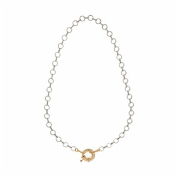 Miklan Istanbul - Fede Rhodium Necklace