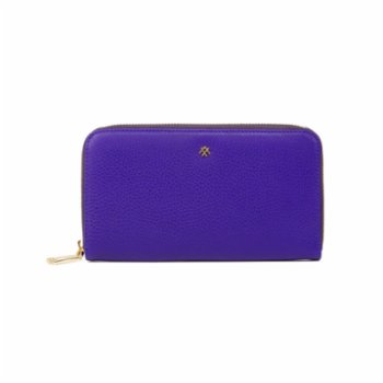 Noula - Zip Around Leather Wallet Large