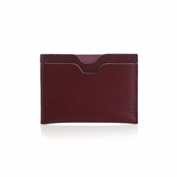Noula - Double Sided Leather Card Holder