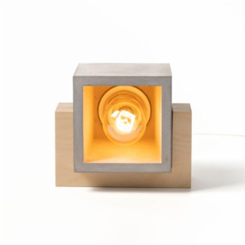 Womodesign - Concrete & Wood Table Lamp
