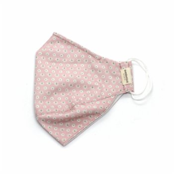 Endemique Studio - The Mask Daisy Pink Washable Face Mask