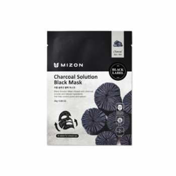 Mizon - Charcoal Solution Black Mask