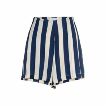 Simple Favor - Pleated Striped Shorts