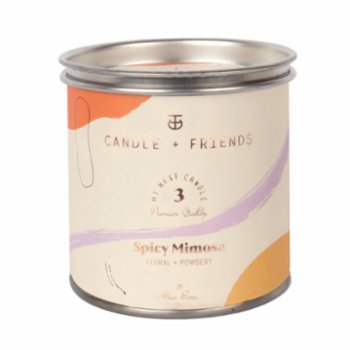 Candle and Friends - No.3 Spicy Mimosa Teneke Mum