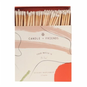 Candle and Friends - No.2 Red Iris Luxury Matchbox