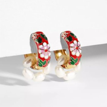Maira Jewelry - Lady Red Earrings