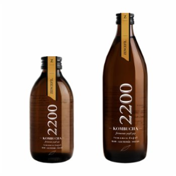Kombucha 2200 - Ginger Tea 6 Packs 500 ml