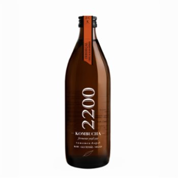 Kombucha 2200 - Turmeric Chili Black pepper Tea 6 Packs 500 ml