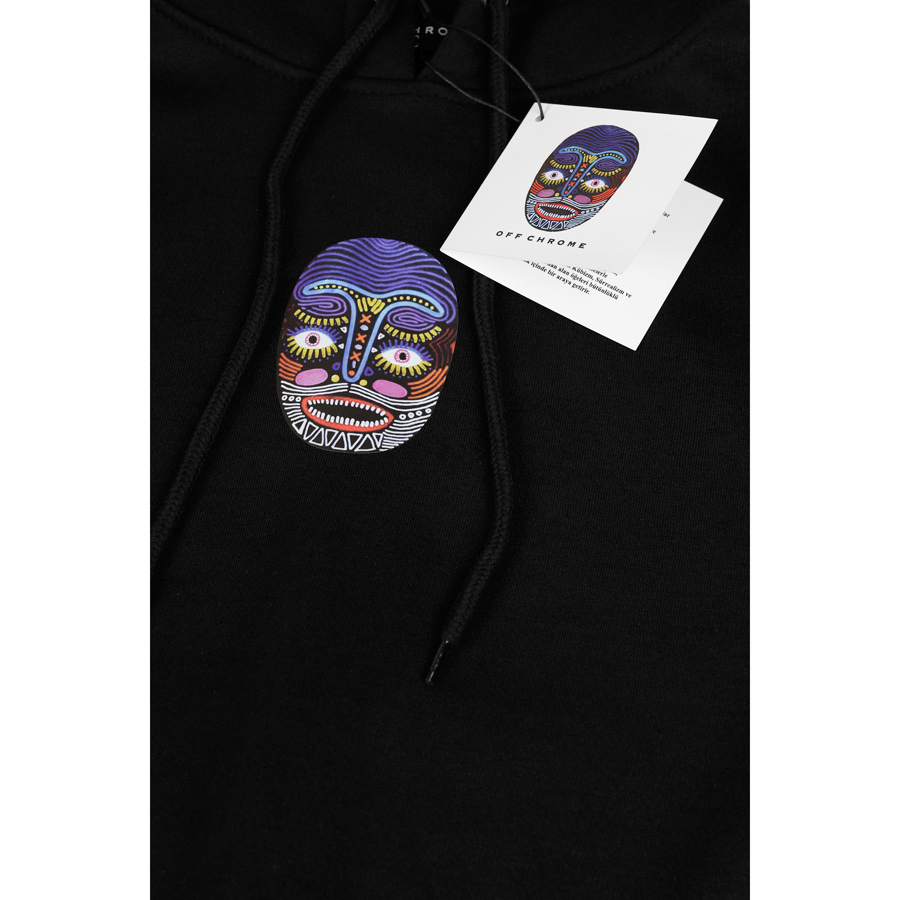 Off Chrome - Shaman Mask Unisex Sweat