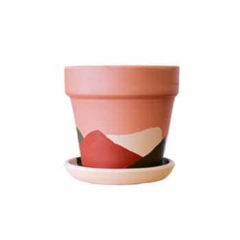 fi.dayy - Abstract No03 - Terracotta Plant Pot