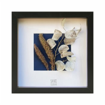 Save The Flowers - Square 11 Frame