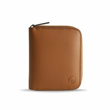 Bustha - Earth C Zip S Zippered Leather Card Holder