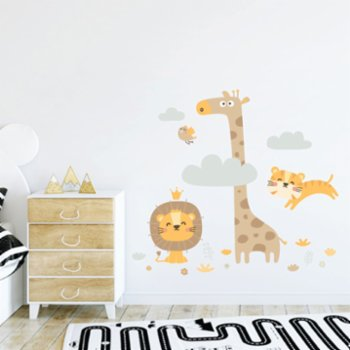 Jüppo - Mini Safari Wall Sticker