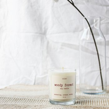 Noisso - Woody Forest Single Wick Soy Candle