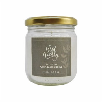 Bold&Goodly - Festive Fig Candle