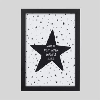 Baluna - Blackstar Black Wall Frame Set