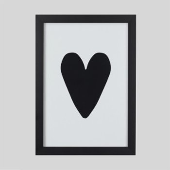Baluna - Love Black Wall Frame