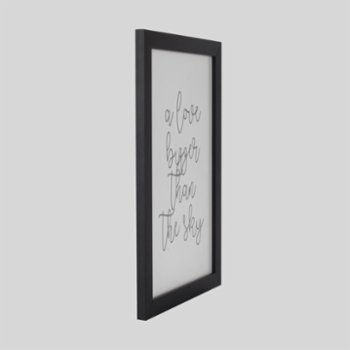 Baluna - Love Bigger Wall Frame