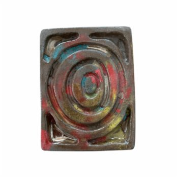 Seda Yaman - Aquarelle Effected Soap Pad And Cup Holder