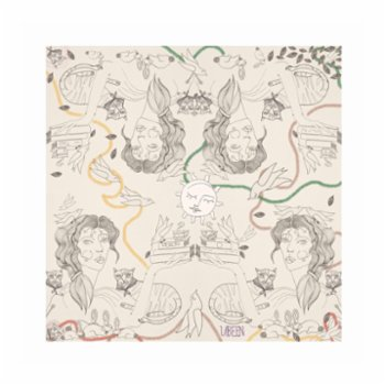Ubeen - Coffee And Books Silk Scarf