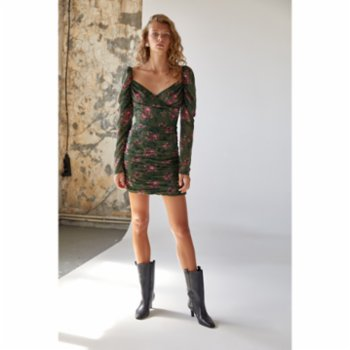 Urban Muse - Double Breasted Mini Dress