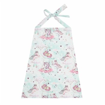 Lally Things - Unicorn Nursing Apron